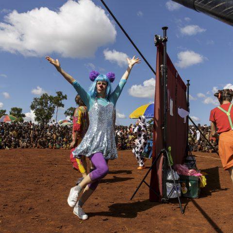Clowns Sans Frontières - Christophe Raynaud de Lage - Tanzanie 2015