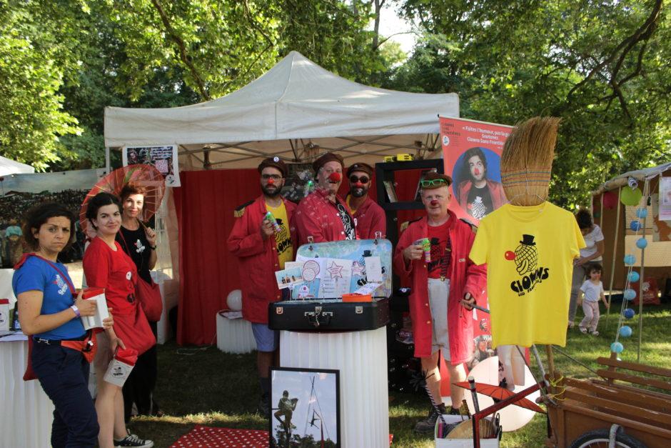 Clowns Sans Frontières au festival Terres du Son - 2017