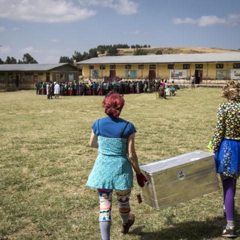 Clowns Sans Frontières - Joseph Banderet - Éthiopie 2017