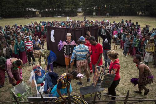 Clowns Sans Frontières © Joseph Banderet - Ethiopie 2017