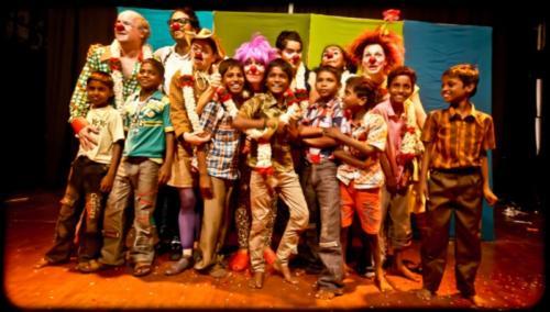 Clowns Sans Frontières © Inde 2012