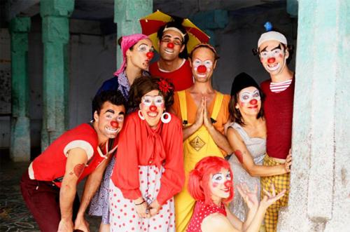 Clowns Sans Frontières © Vincent Muteau - Inde 2006