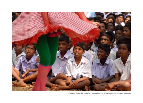 Clowns Sans Frontières © Inde 2008