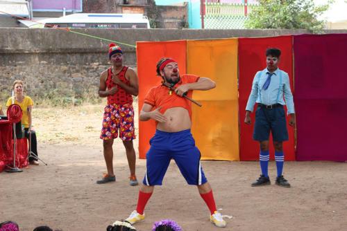 Clowns Sans Frontières © Inde 2017