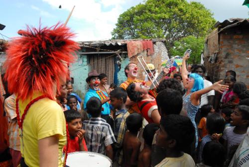 Clowns Sans Frontières © Inde 2009