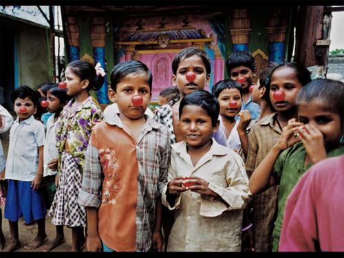 Clowns Sans Frontières © Pierre Layac - Inde 1999