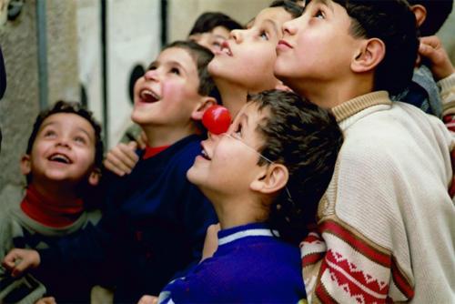 Clowns Sans Frontières © Anne Britt Kristiansen - Jordanie 2002