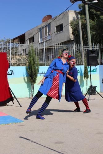 Clowns Sans Frontières © Achil Bras - Palestine 2019