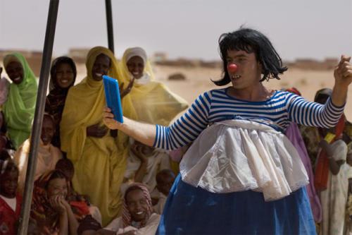 Clowns Sans Frontières © Olivier Ouadah - Soudan 2006