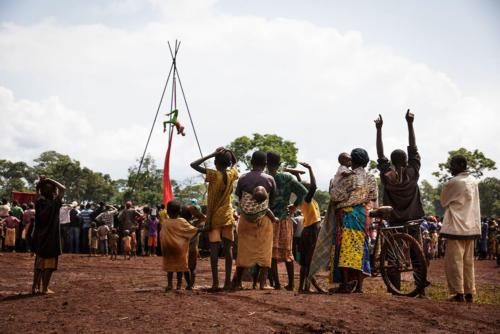Clowns Sans Frontières © Christophe Raynaud De Lage - Tanzanie 2015